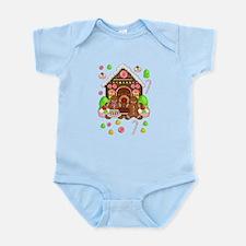 Gingerbread People & House Infant Bodysuit