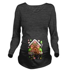 Gingerbread People & Long Sleeve Maternity T-S