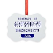 Property of Ashworth University Ornament