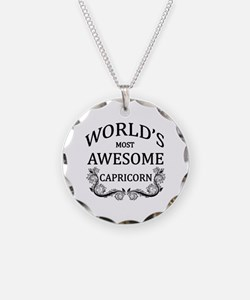 World's Most Awesome Capricorn Necklace