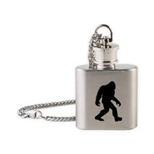 Bigfoot Flask Necklace