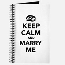 Keep calm and marry me Journal