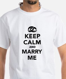 Keep calm and marry me Shirt