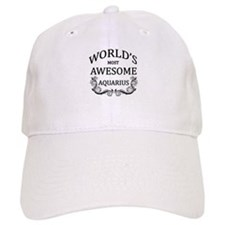 World's Most Awesome Aquarius Baseball Cap
