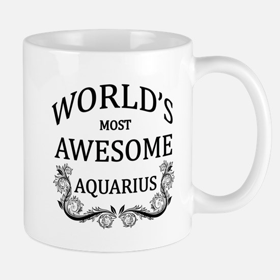 World's Most Awesome Aquarius Mug