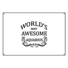 World's Most Awesome Aquarius Banner