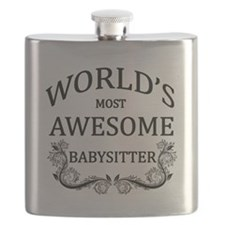 World's Most Awesome Babysitter Flask