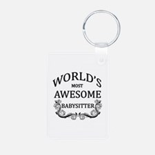 World's Most Awesome Babysitter Keychains