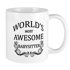 World's Most Awesome Babysitter Mug