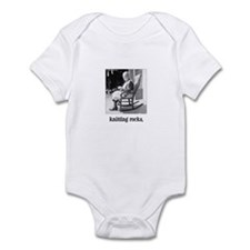 Knitting Rocks Infant Bodysuit