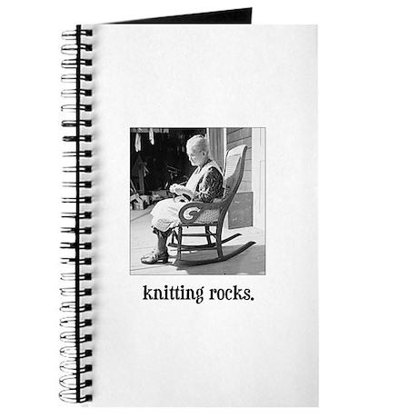 Knitting Rocks Journal