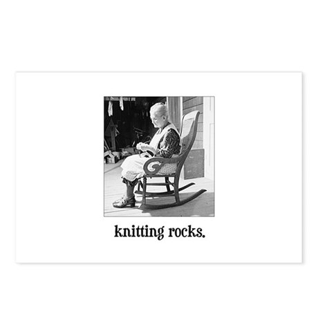 Knitting Rocks Postcards (Package of 8)