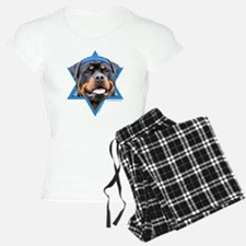 Hanukkah Star of David - Rottie Pajamas