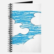 Scribble Clouds Journal