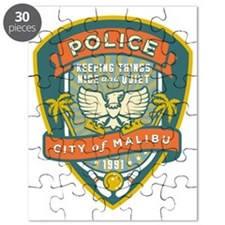 The Big Lebowski Malibu Police Puzzle
