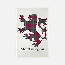 Lion - MacGregor Rectangle Magnet