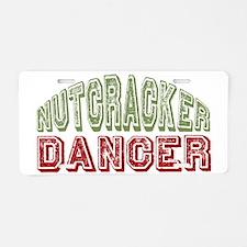 NutcrackerDancer Aluminum License Plate