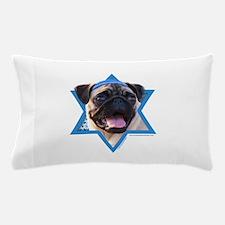 Hanukkah Star of David - Pug Pillow Case