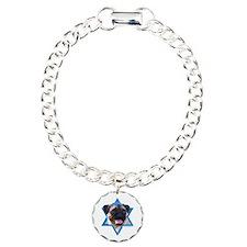 Hanukkah Star of David - Pug Bracelet