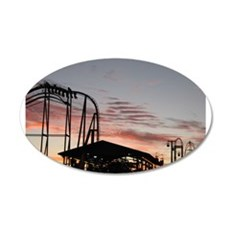 Roller Coasters Wall Decal