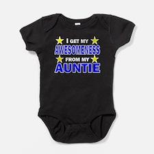 Awesomeness From My Auntie Baby Bodysuit