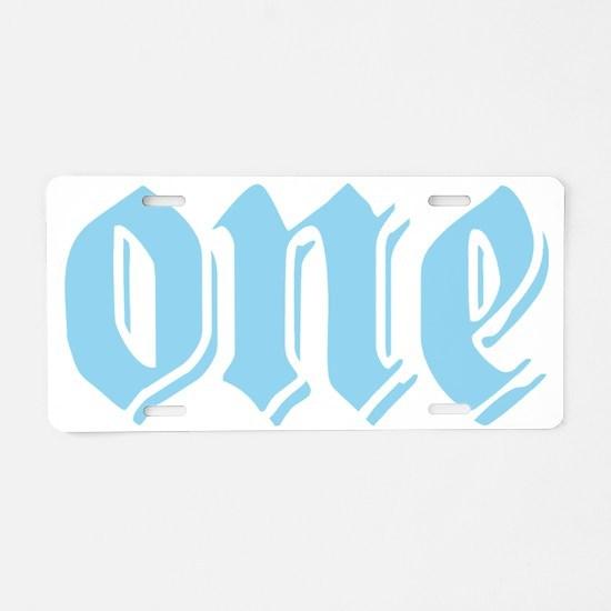 Oneboyblue Aluminum License Plate