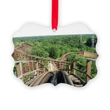 Kings Island Beast Roller Coaster Ornament