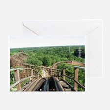Kings Island Beast Roller Coaster Vi Greeting Card