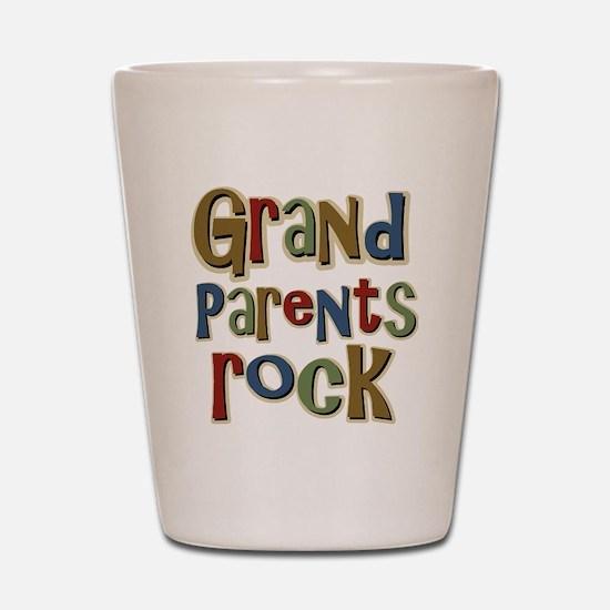 GrandParentsRock Shot Glass