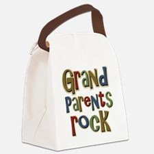 GrandParentsRock Canvas Lunch Bag