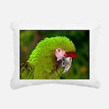 Military macaw Rectangular Canvas Pillow
