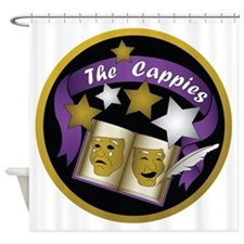 Cappies-ColorLogo.png Shower Curtain