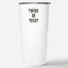 Twerk or Treat Travel Mug