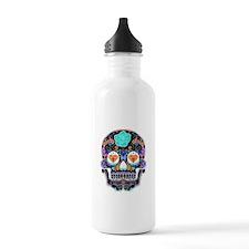Dark Sugar Skull Water Bottle