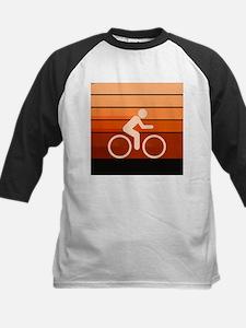 Biking Orange Baseball Jersey