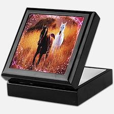 star dust horses Keepsake Box