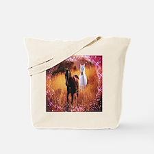star dust horses Tote Bag