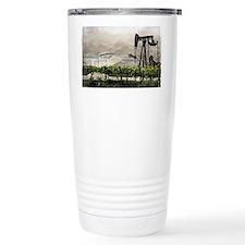 Vineyards & Oil - Oil County, C Travel Mug