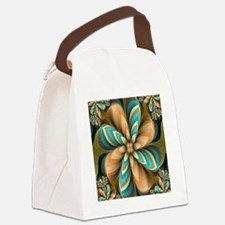 Flowers Please Canvas Lunch Bag