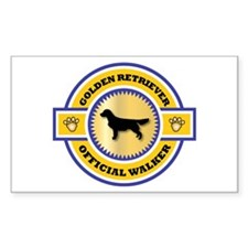 Retriever Walker Rectangle Decal