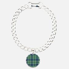 Tartan - Duncan Charm Bracelet, One Charm