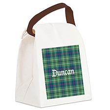Tartan - Duncan Canvas Lunch Bag