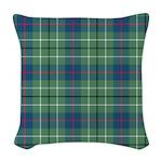 Tartan - Duncan Woven Throw Pillow