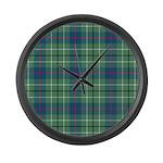 Tartan - Duncan Large Wall Clock