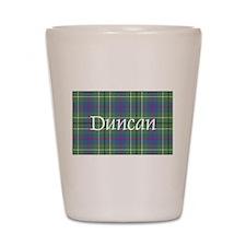 Tartan - Duncan Shot Glass