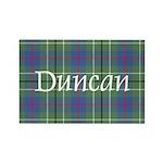 Tartan - Duncan Rectangle Magnet (10 pack)