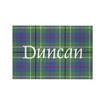 Tartan - Duncan Rectangle Magnet (100 pack)