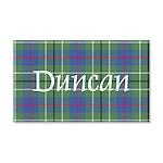 Tartan - Duncan 20x12 Wall Decal