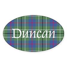 Tartan - Duncan Decal