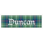 Tartan - Duncan Sticker (Bumper 50 pk)